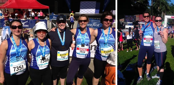 Congrats to our fit and fabulous mums who raised $2000 at the  Brisbane Marathon Festival